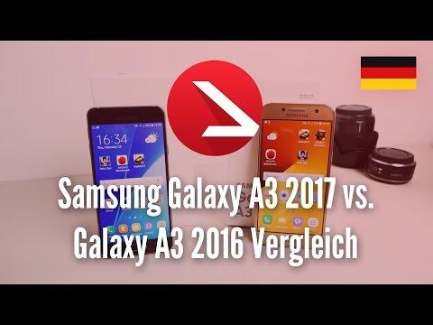 Samsung Galaxy A3 2017 vs. Galaxy A3 2016 Vergleich