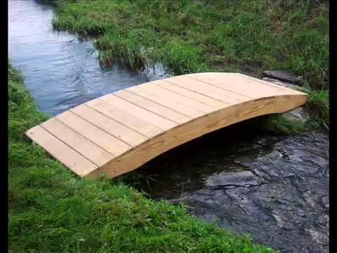 Garden Bridge I Garden Bridge Wooden Garten-Brücke I Garten-Brücke aus Holz