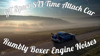 GT Sport STi Isle Of Mans Record Car! Beautiful Exhaust Note!