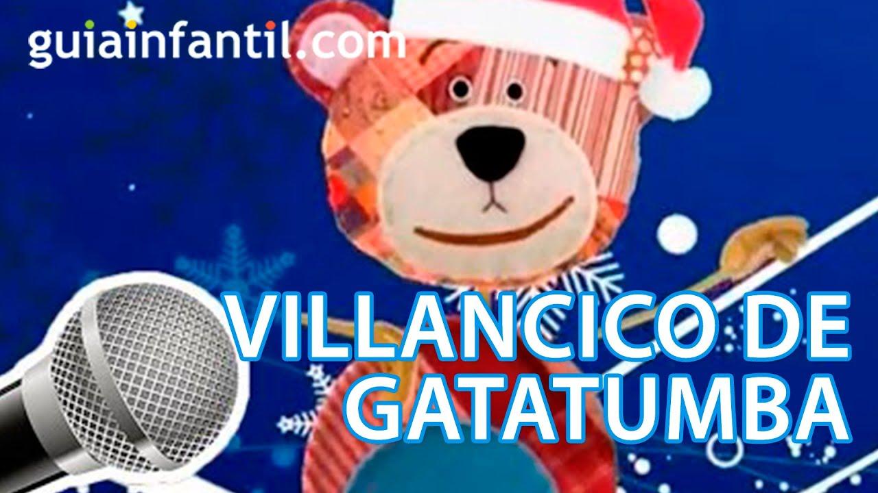 Villancico de Navidad. Canta Gatatumba.