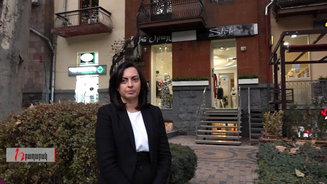 Լենա Նազարյանը, դուրս գալով գեղեցկության սրահից, չպատասխանեց ոչ մի հարցի