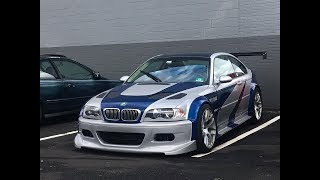 Making of the NFS Most Wanted M3 GTR V.1 (Timelapse)