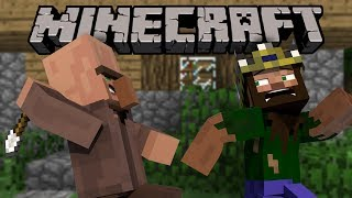If Villagers Could Fight Back   Minecraft