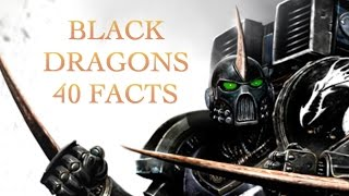40 Facts and Lore about Black Dragons Chapter Warhammer 40K