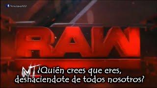 WWE RAW 'Enemies' Canción Subtitulada + Lyrics   9th NEW Theme