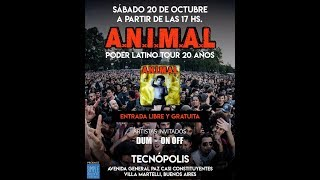 ANIMAL - TACNOPOLIS 20/10/18