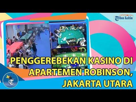PENGGEREBEKAN KASINO DI APARTEMEN ROBINSON, JAKARTA UTARA