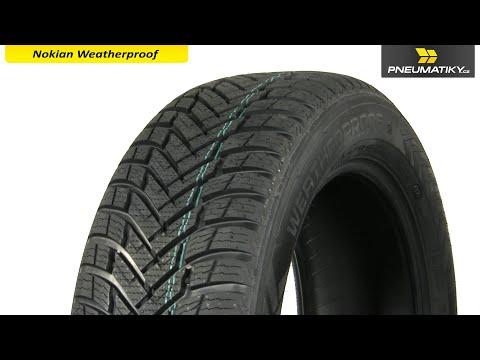 Youtube Nokian Weatherproof 205/50 R17 89 V Celoroční