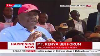 Senator Gideon Moi: Uhuru, Raila and the leaders you see here are a sure bet | MT. KENYA BBI FORUM