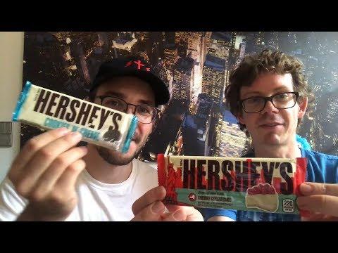 Hershey's  Schokolade: Cookies'n'Creme,  Gold & Cherry Cheesecake im Test - Was ist die beste Sorte?