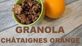 Granola gourmand de Noël