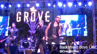 Backstreet Boys - Breath live at The Groove