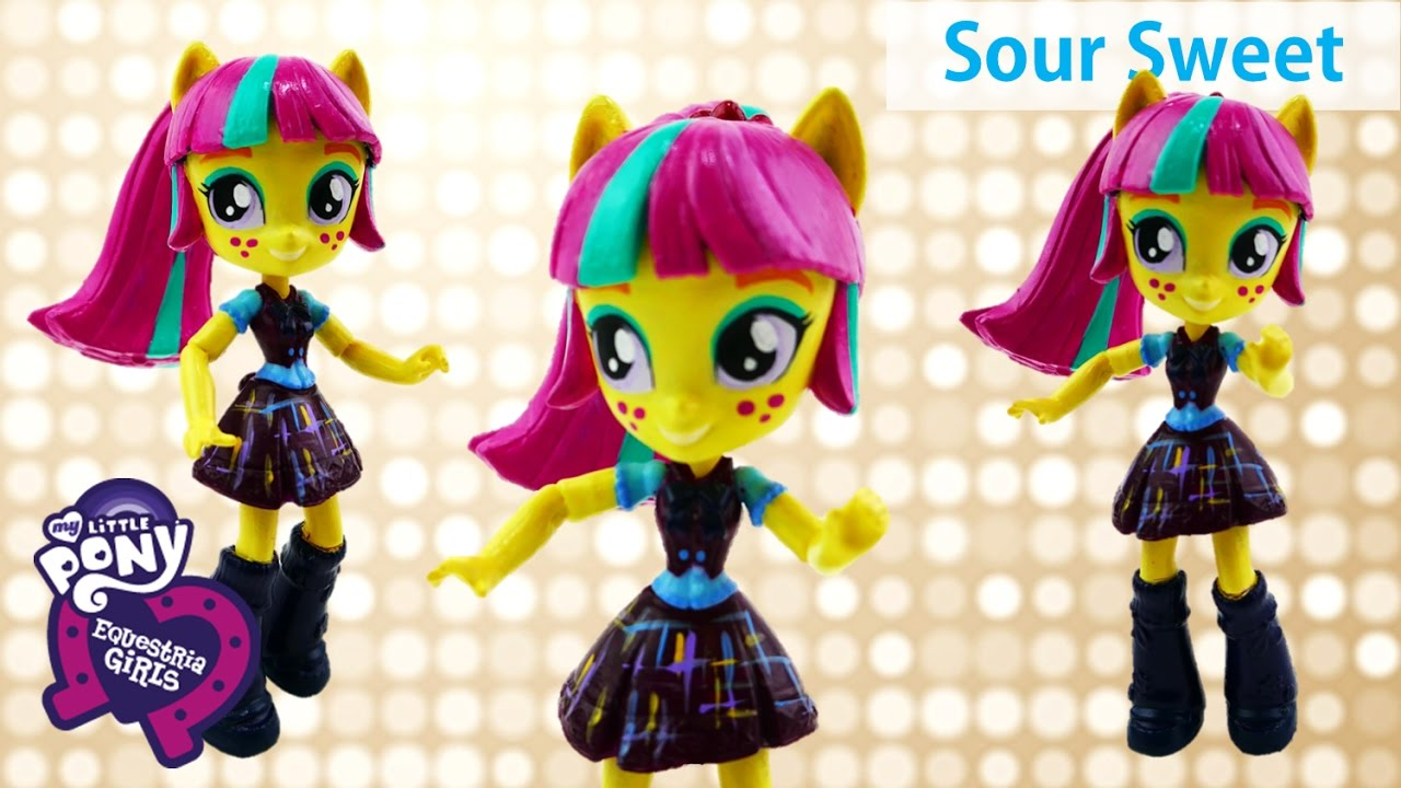 My Little Pony Sour Sweet Shadowbolts Friendship Games Equestria Girls Minis Custom
