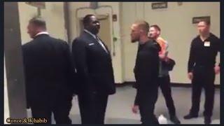 Conor McGregor backstage feud with Khabib Nurmagomedov & Tyron Woodley