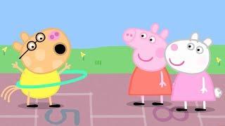 Свинка Пеппа на русском все серии подряд - Компиляция школы 3 - Мультики