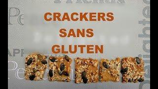 Des crackers sans gluten