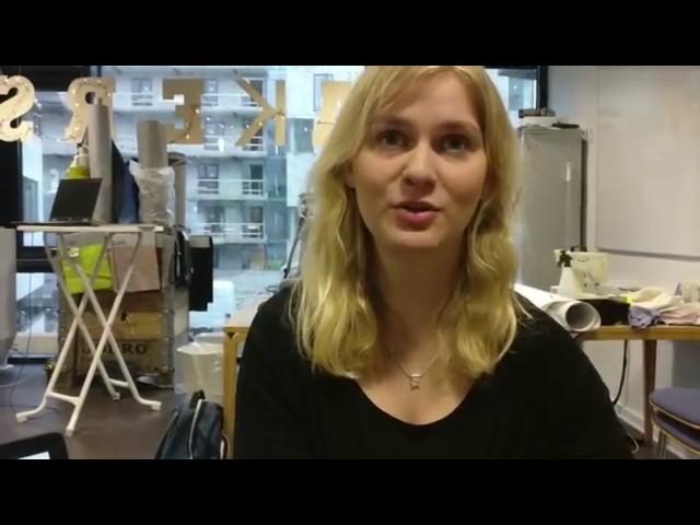 Hør Helle fortælle om VIAs makerspace