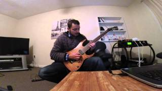 Dream Theater - 'Lie' solo, guitar instructional video