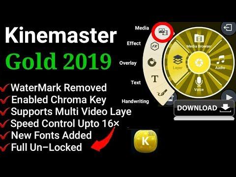Download KineMaster Pro 2019 Full Unlock   Video Layer