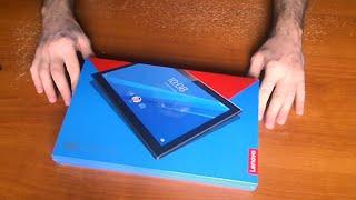 Планшет Lenovo Tab 4 10 Plus Wi-Fi 64GB. Распаковка by WEBmancer - dooclip.me