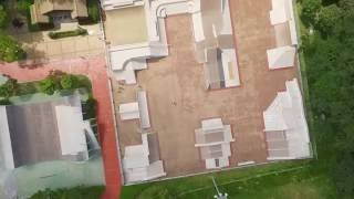 Aggressive inline skatepark in Kimhae (Aerial film)