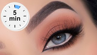 5 MINUTE Foxy Eye Look Tutorial   Eye Lift Without Surgery
