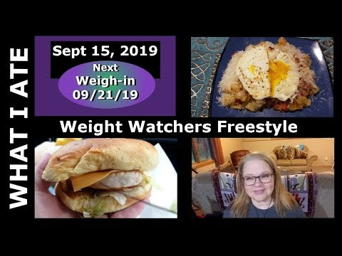 What I ate on WW Freestyle on a travel day | SEPT 15 2019