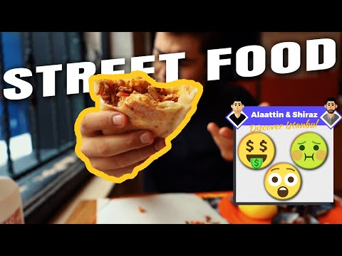 Turkish street food tour in Istanbul