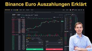 Binanz Kryptowahrungen in Euro Tauschen