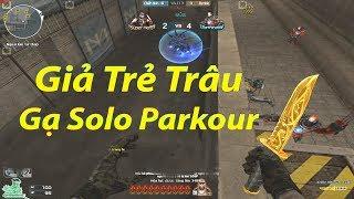 Giả Trẻ Trâu Gạ Kèo Solo Parkour 1-1 ZombieV4 Và Cái kết...   Rùa Ngáo