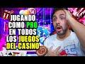 en Vivo A Jugar Como Pro En Todos Los Juegos Del Casino