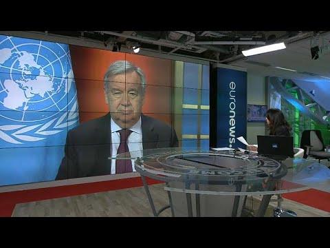 Δύο δισ. δολάρια για τον πόλεμο κατά του COVID-19 ανακοίνωσε ο ΓΓ του ΟΗΕ…