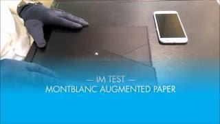 Montblanc - Augmented Paper