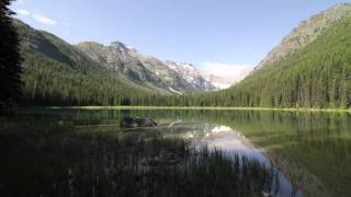 Trip video of Akokala Lake starting at the Akokala Creek trailhead up to the lake, then back out the Akokala Lake trail to the foot of Bowman Lake.