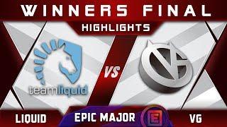 Liquid vs VG Winners Final EPICENTER Major 2019 Highlights Dota 2