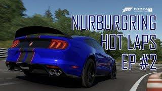 Ford Shelby GT350R Vs Chevrolet Camaro ZL1 | Nürburgring Hot Laps #2 (Forza Motorsport 7)