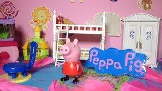 PEPPA PIG Nickelodeon Peppa Design Peppa's Bedroom a BBC&Nick Jr Peppa Video