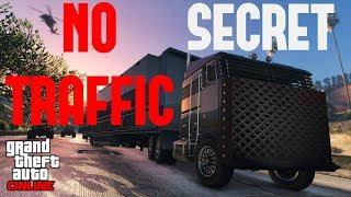 GTA 5 ONLINE Secret - No Traffic