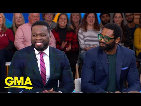 50 Cent and Nicholas Pinnock talk powerful new show, 'For Life' l GMA
