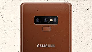 Samsung Galaxy Note 9 - TEDDY BROWN LOOK!