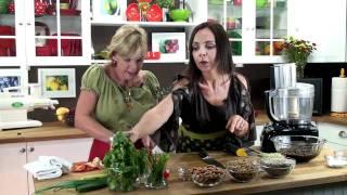 Raw Vegan Meatloaf [Chef Tina Jo's Recipes]