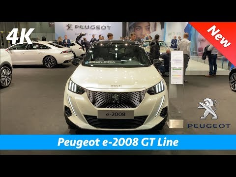 Peugeot e-2008 GT Line 2020 - FIRST quick look in 4K | Interior - Exterior
