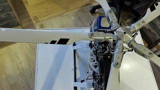 Teil 6 RC Projekt Mil Mi-24 Hind , Die flugfertige Mechanik *HD*