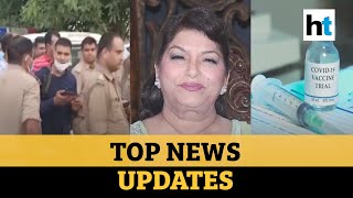 Editorji Espresso: 8 cops killed; India's Covid vaccine updates; RIP Saroj Khan