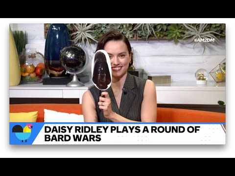 """Can """"Star Wars""""  Star Daisy Ridley Guess If The Quote Is """"Star Wars"""" Or Shakespeare?"""