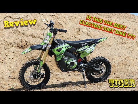 TIGER 1100W 36V Electric Dirt Cross Bike - Full REVIEW