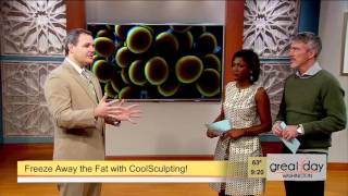 Dr. Scott Gerrish Features Coolsculpting on Great Day Washington