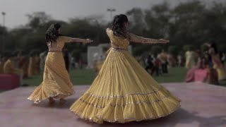Surprise Dance by Sisters for Brother's Marriage   Dhadak   Mehendi Sangeet Dance   Bhai Ki Shaadi