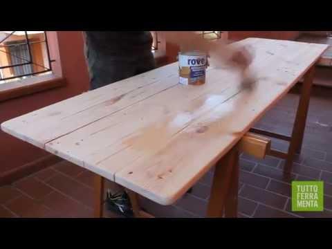 Come costruire un tavolo da giardino con i Pallet - Faidate online