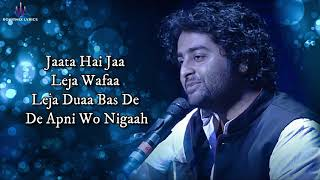 Zara Si Dosti (LYRICS) - Arijit Singh - YouTube